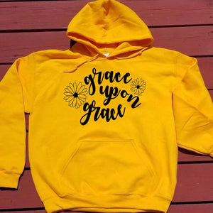 Grace Upon Grace Hoodie | Heavens Apparel