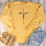 He is Risen Sweatshirt | Heavens Apparel