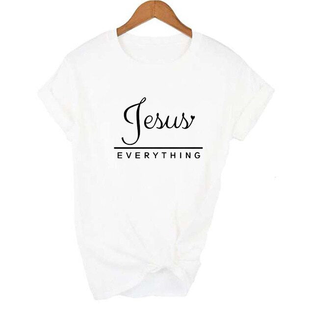 Jesus Over Everything T-shirt | Heavens Apparel