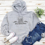 Faith Can Move the Mountains Hoodie | Heavens Apparel