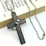 Jesus Cross Chain Necklace | Heavens Apparel