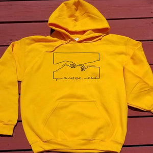 God's Creation Adams Hand Hoodie | Heavens Apparel