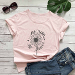 No Rain no Flowers T-Shirt | Heavens Apparel