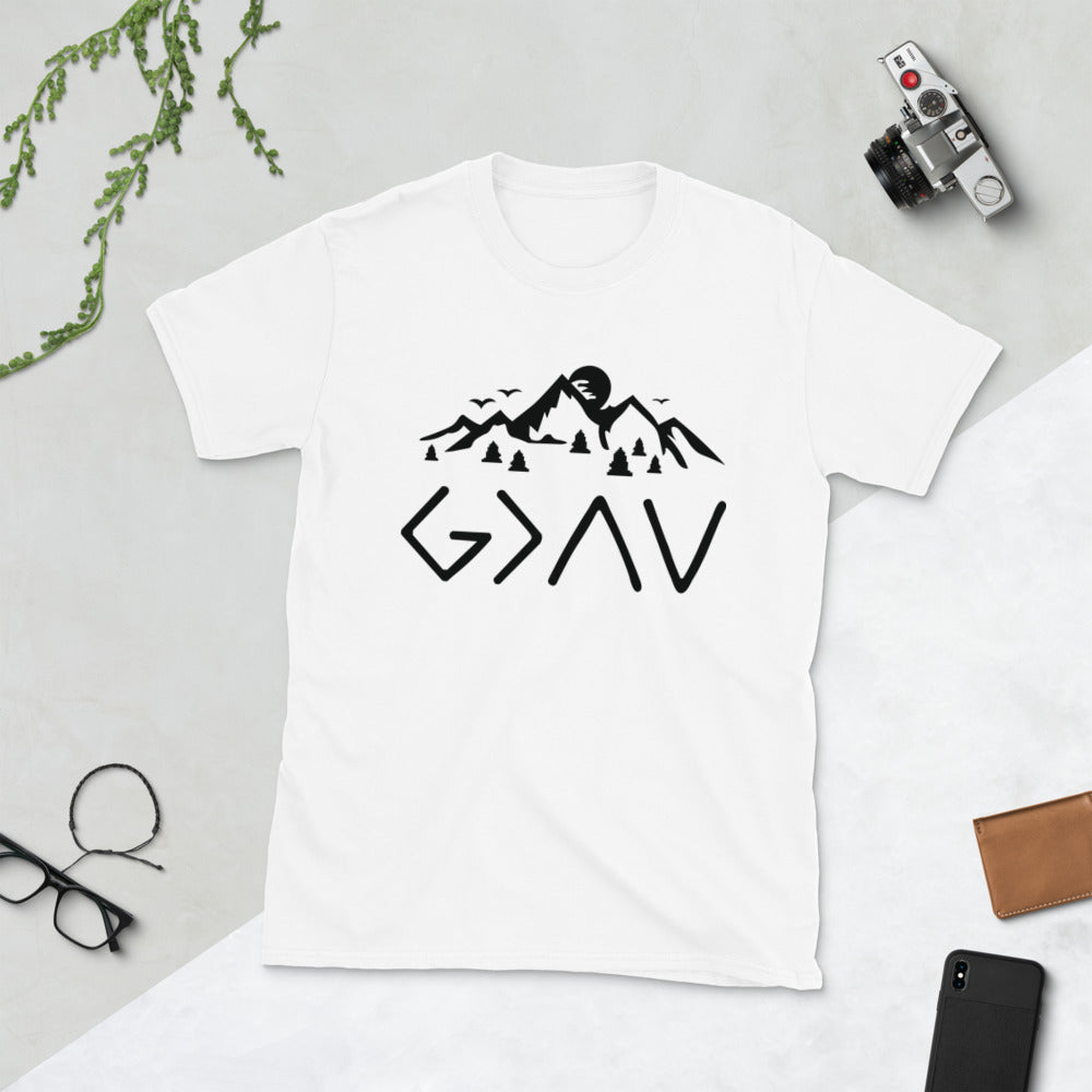 Black God Is Greater Than The Highs and The Lows T-shirt
