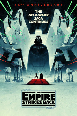 The Empire Strikes Back 40th Anniversary - English Regular