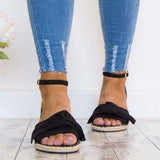 Cutelily Flat Buckle Breathable Sandals