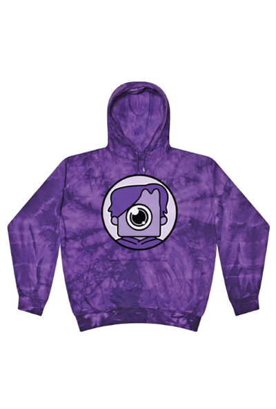 Purple Tie Dye Newscapepro Fortnite Hoodie - Newscape Studios