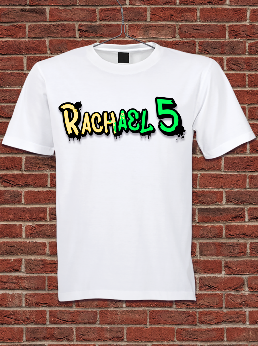 Rachael 5 T-Shirt *Limited Edition* + Free Holiday Card!
