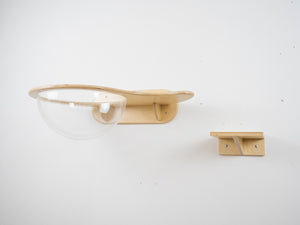 Modern Wall Shelf-Drop For Cat 5 Colors