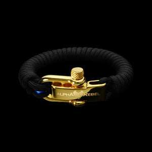 SLIM KCUF // 24K GOLD // THIN BLUE LINE