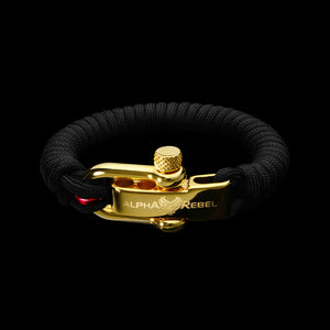 SLIM KCUF // 24K GOLD // THIN RED LINE