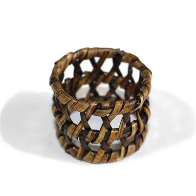 Round Open Weave Napkin Ring