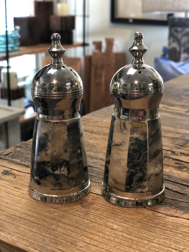 Primitive Artisian Salt and Pepper Shaker