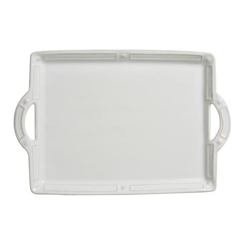 Juliska French Panel Handled Tray/ Platter