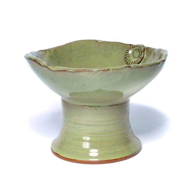 Earthborn- Large Pedestal Bowl