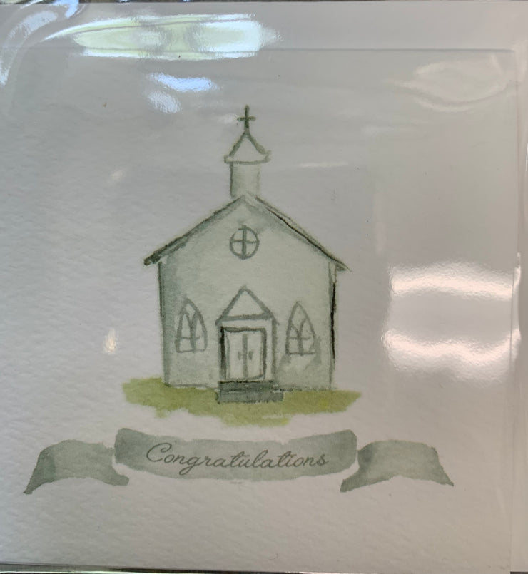 Over the Moon Chapel Enclosure Cards
