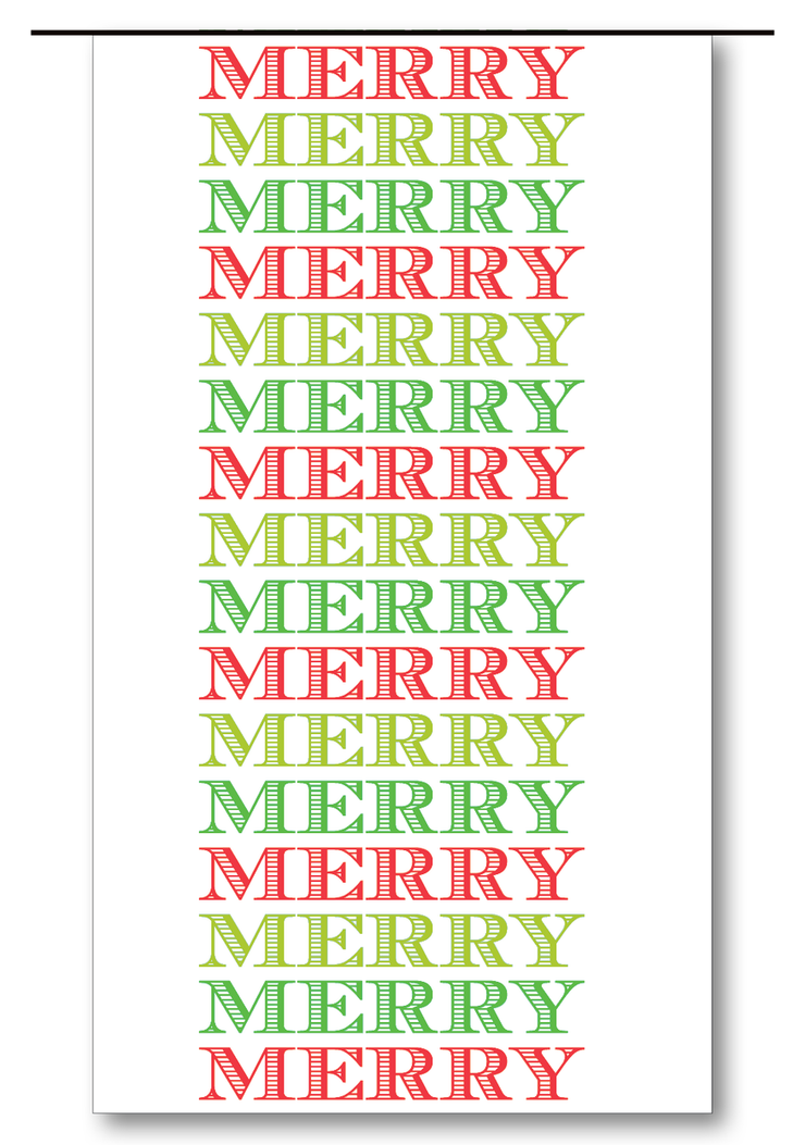 Merry Merry Merry Gift Tags