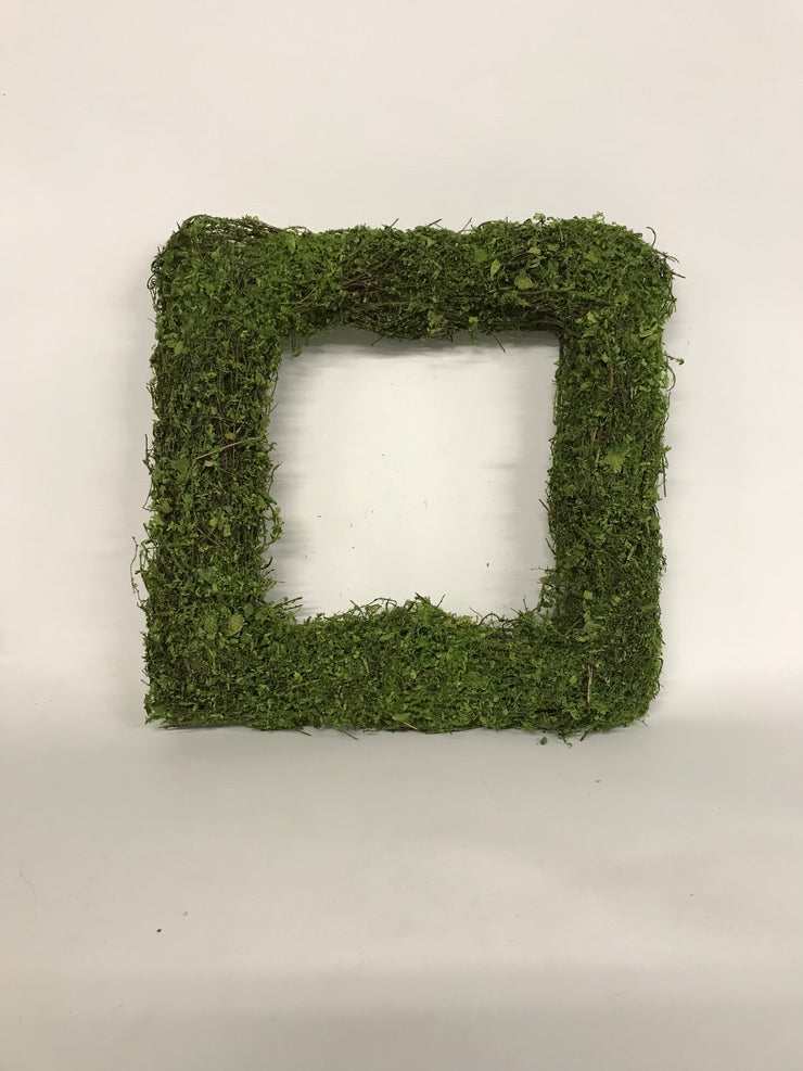 15in Square Moss Wreath