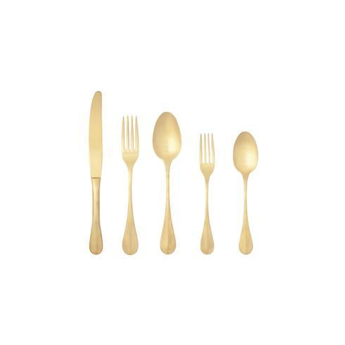 Costa Nova Nau Flatware 5 Piece Set