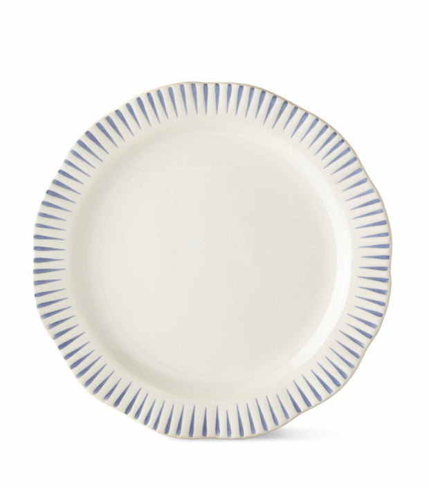 Juliska Sitio Stripe Salad Plate