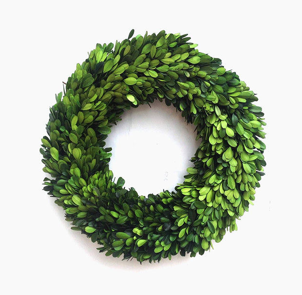 Mills Floral Boxwood wreath