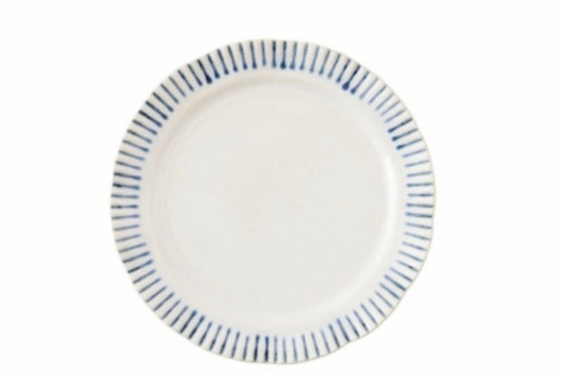 Juliska Sitio Stripe Dinner Plate