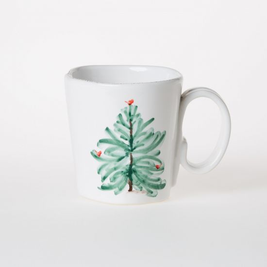 Vietri Lastra Holiday Mug