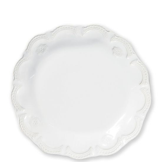 Vietri Incanto Stone White Lace Dinner Plate