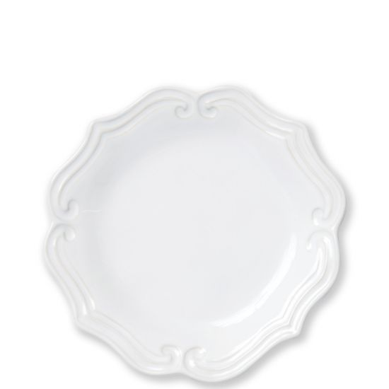 Vietri Incants Stone White Salad Plate