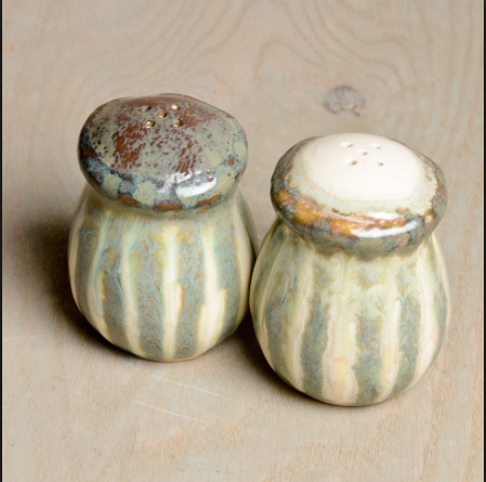 Good Earth Pottery Salt Shaker