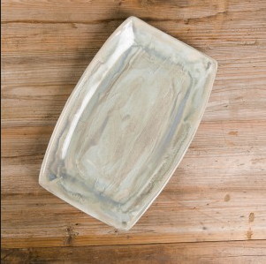 Good Earth Pottery Rectangular Bread Tray