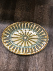 Good Earth Pottery Medium Oval Platter