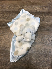 Little girrafe blankie with elephants