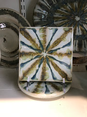 Good Earth Pottery Square Trivet