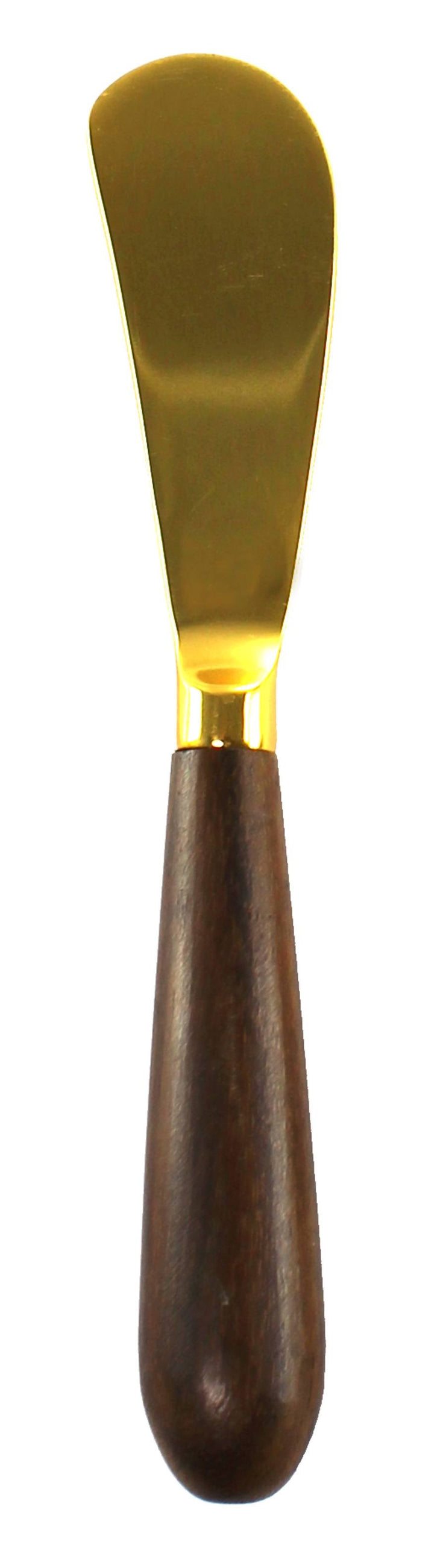 Gold and Wood Large Spreader