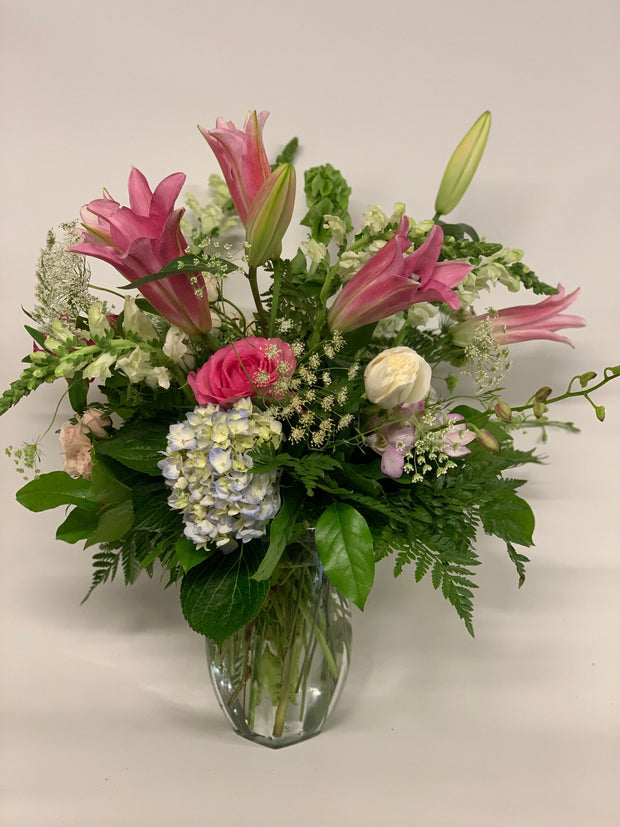 Large Mixed Arrangement