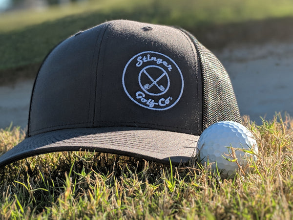 Double Circles Stinger Golf Co. Trucker Hat