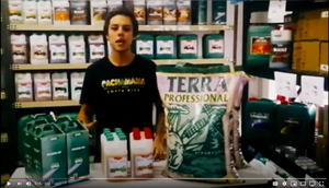 Learn with Alejandro about the Canna Terra Starter Kit