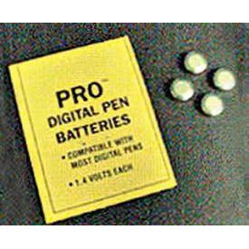Batteries for pH/TDS pen or Thirsty Light (pack of 4 batteries)