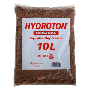Clay Pebbles, Hydroton Original 10 Liter (140/Plt)