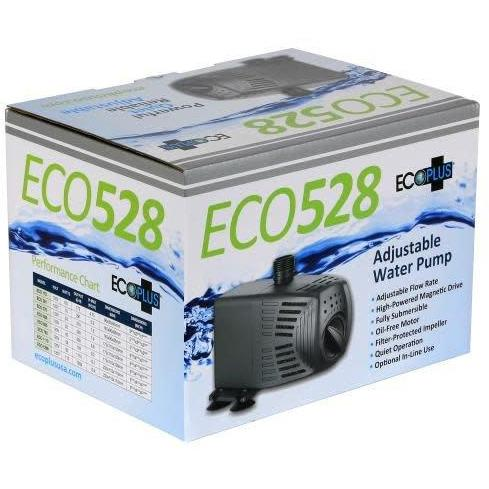 EcoPlus Submersible Water Pump, 528 GPH - Pachamama Indoor Farming
