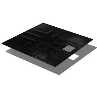 Reservoir Cover Black, 50GL 36.5 - Pachamama Indoor Farming