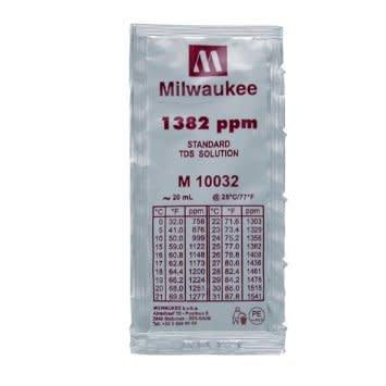 Milwaukee 1382 ppm TDS Solution - TDS Meter Hydroponics