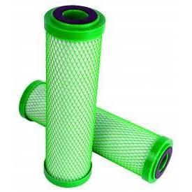 "Replacement Green Carbon Filter for Stealth Reverse Osmosis Filtration System 10"" x 2.5"" - Pachamama Indoor Farming"