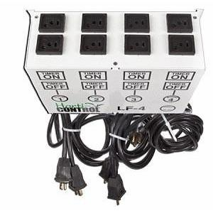 "Light Controller, Horti-Control Flip Box, 4 in 8 out, LF Series ""Ballast Flip Flop"""