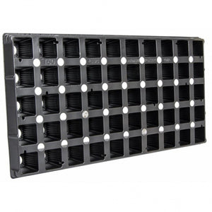 50-Cell Square Plug Flat Insert