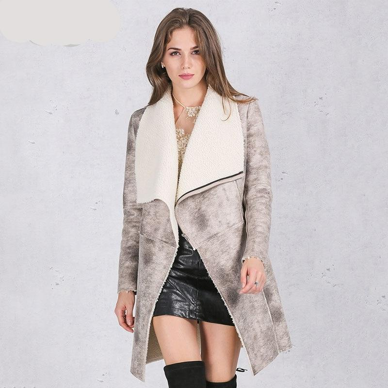 Cashmere Turn Down Collar Coat