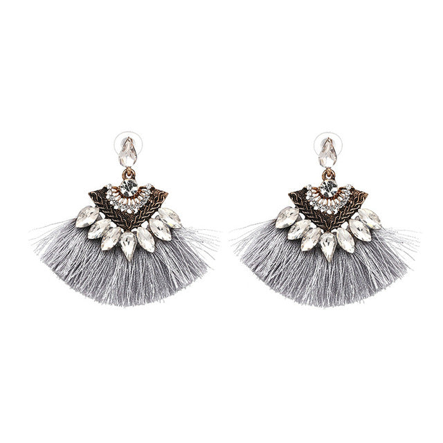 Dangle Drop Tassel Earrings