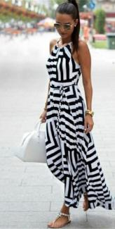 Layered Maxi Dress