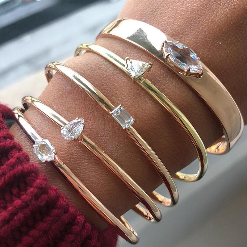 Bohemian Crystal Bangle